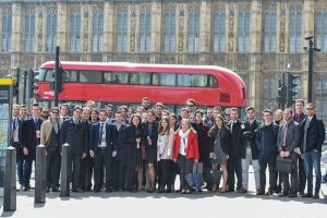 European Democrat Students in London in May.